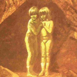 The green children of Woolpit, England.